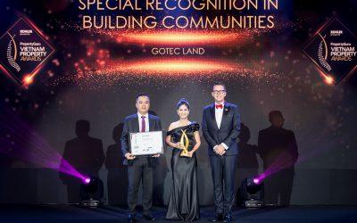 Gotec Land được vinh danh tại gala trao giải Vietnam Property Awards 2019