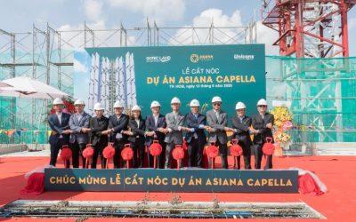 Vượt đại dịch, dự án Asiana Capella cất nóc đúng hẹn