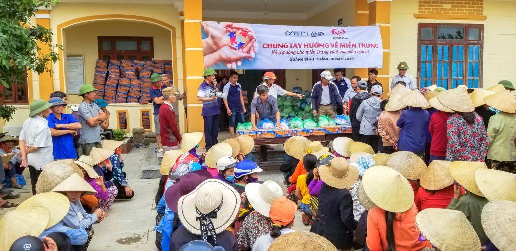 Kinh doanh gắn liền với những đóng góp trong cộng đồng đã giúp Gotec Land được gọi tên qua giải Chứng nhận đặc biệt về Trách nhiệm xã hội tại lễ trao giải Vietnam Property Awards 2020.